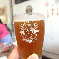 Photo taken at Latitude 33° Brewing by Michele S. on 6/23/2013