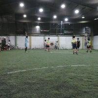 Photo taken at De Futsal by Rully H. on 10/12/2012