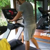 Photo taken at Yalıkavak fitness salonu by Selim K. on 10/17/2015