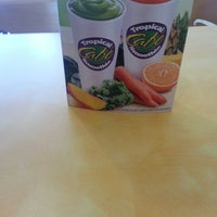 Photo taken at Tropical Smoothie Cafe by Tisha on 3/25/2013