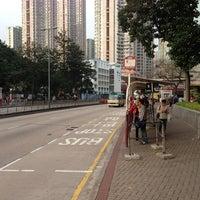 Photo taken at Yin Hing Street Bus Stop 衍慶街巴士站 by 9VSKA on 2/4/2013