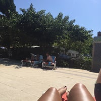 Photo taken at Piscine Du Camping Costa Brava by Lindsey M. on 8/5/2015
