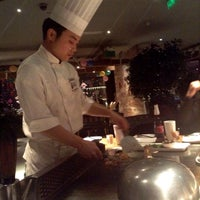 Photo taken at 57℃湘 Teppanyaki Xiang by Clare L. on 2/12/2015