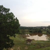 Photo taken at Tasek Buatan - Pulai Indah by fitri h. on 7/29/2014
