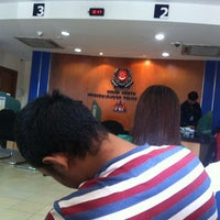 Photo taken at Bedok Police Division HQ / Bedok North Neighbourhood Police Centre by Nheigl on 9/24/2013