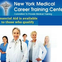 Photo taken at NY Medical Career Training Center by New York Medical C. on 4/3/2015