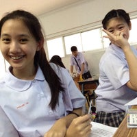 Photo taken at 10B CLASS ROOM by เป💗 on 8/13/2015