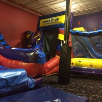 Photo taken at Pump It Up by Stephen A on 12/27/2013