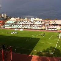"Photo taken at Stadio Cibali ""Angelo Massimino"" by Mariolina M. on 1/27/2013"