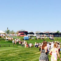 Photo taken at Foxfield Races by Patrick W. on 4/26/2014