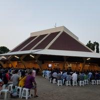 Photo taken at Gereja Katolik Santa Monika by Vica S. on 7/2/2017