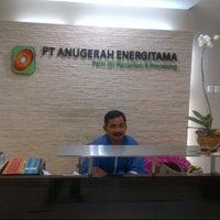 Photo taken at PT. Anugerah Energitama by Satriyo E. on 7/19/2013