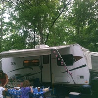 Photo taken at Drummer Boy Camping Resort by Valerie O. on 8/9/2013