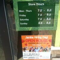 Photo taken at Jamba Juice Studio City by James B. on 8/4/2013