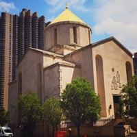 Photo taken at St. Vartan Armenian Cathedral by moya m. on 5/12/2015