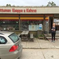 Photo taken at Sattuman kaappa & kahvio by Asko M. on 6/24/2014