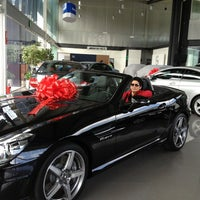 Photo taken at Mercedes-Benz Hermer by Kal S. on 3/2/2013