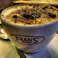 Photo taken at Fran's Café by Christopher M. on 7/16/2013