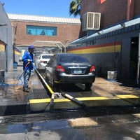 Photo taken at Oasis Hand Car Wash by John JJ W. on 5/14/2014