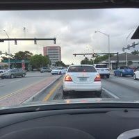 Photo taken at Federal hwy and atlantic blvd by Dennis M. on 4/18/2016