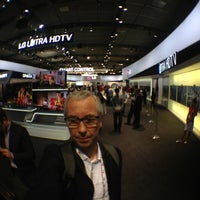 Photo taken at LG Electronics Booth   Halle 11.2 Stand 101 by baranek on 9/6/2013