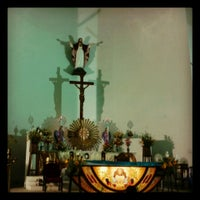 Photo taken at Sacred Heart Shrine & Church by Jyothi Y. on 7/12/2013