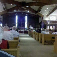 Photo taken at Sacred Heart Church by James B. on 2/18/2013