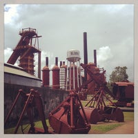 Photo taken at Sloss Furnaces National Historic Landmark by Mark H. on 7/14/2013