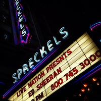 Photo taken at Spreckels Theatre by Michelle on 2/13/2013