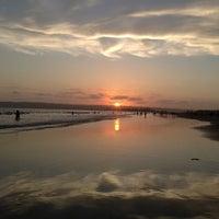 Photo taken at Coronado Beach by Michelle on 7/15/2013