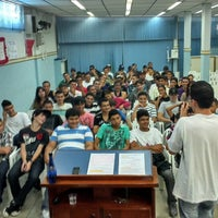 Photo taken at Comunidade Cristã Manancial by Rodrigo M. on 8/25/2013
