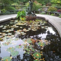 Photo taken at Conservatory Garden by Alkaceq on 10/8/2012