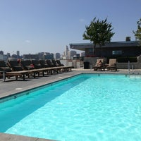 Photo taken at Pool at Barker Block by Darin B. on 5/26/2013