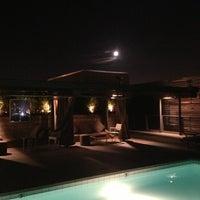 Photo taken at Pool at Barker Block by Darin B. on 7/23/2013