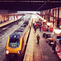 Photo taken at Stoke-on-Trent Railway Station (SOT) by Christian A. on 12/27/2012