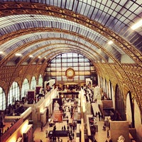 Photo taken at Orsay Museum by Christian A. on 1/2/2013