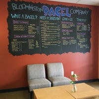 Photo taken at Bloomington Bagel Company by Jungwon M. on 8/11/2017