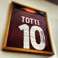 Photo taken at AS Roma Store by Fadhel A. on 12/22/2012