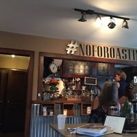Photo taken at North Fork Roasting Co. by Amy W. on 8/6/2016