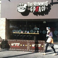 Photo taken at The Hummus & Pita Co by Dave P. on 4/13/2013
