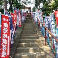 Photo taken at 福定寺 by nori_w0621 on 8/14/2013