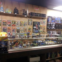 Photo taken at West End Comics by Courtney E. on 4/12/2013