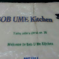 Photo taken at Bob Ume Kitchen by Jans H. on 12/30/2012