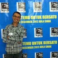 Photo taken at SMAK 2 BPK Penabur by Mark L. on 12/8/2012