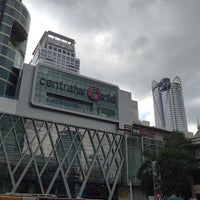 Photo taken at CentralWorld by Jiro Y. on 7/14/2013