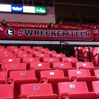 Photo taken at TTU - United Supermarkets Arena by Clayton B. on 2/2/2013