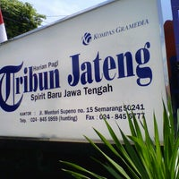 Photo taken at Tribun Jateng Office by Cahyo C. on 9/13/2013