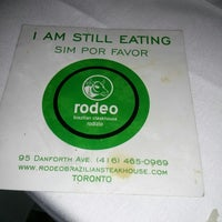 Photo taken at Rodeo Brazilian Steakhouse by terenced on 5/11/2014