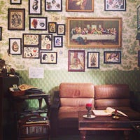 Photo taken at Bläckfisk Parlour by Orchidea on 9/22/2013
