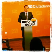 Photo taken at Ciudadanos (C's) by Luis F. on 10/21/2013
